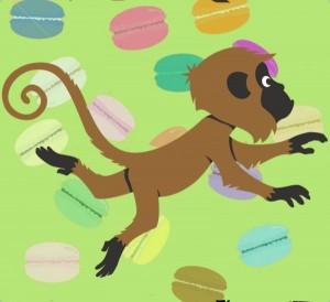 کتاب داستان The monkey in the kitchen